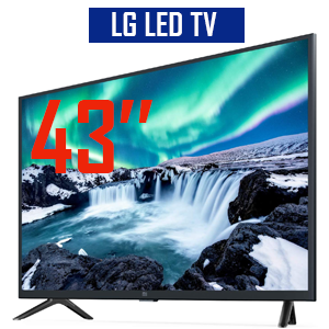 TV LG 43»