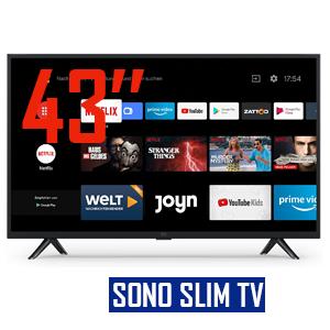 TV SONO 43»